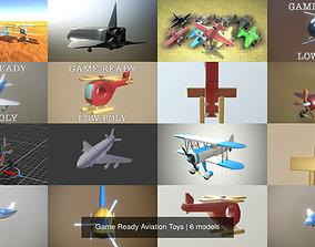 Game Ready Aviation Toys 3D model
