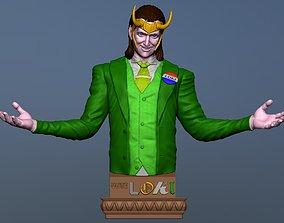President Loki - DisneyPlus Fanart 3D printable model