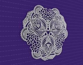 Mandala flower 3D