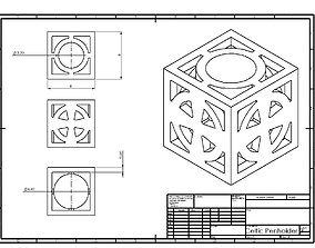 3D print model Celtic Penholder 2