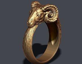 ram ring horoscope 3D print model