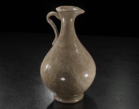 pot Oriental Carafe PBR 3D asset