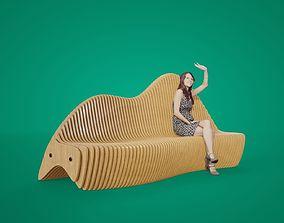 Printable bench