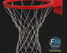 Basket ring 3D model PBR
