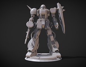 3D printable model Zaku Warrior variants