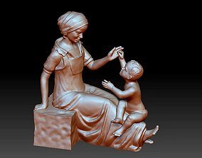 3D printable model Baby Mother Decorative Ornaments
