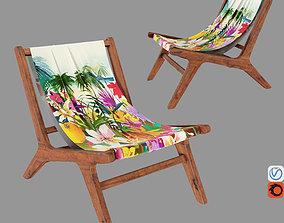 NAIROBI Garden Armchair No6 3D asset