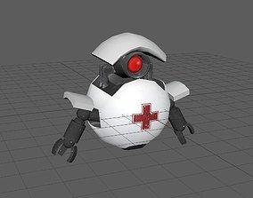 Medic bot 3D model