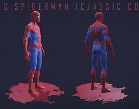 The Amazing Spider-Man Classic Comics Version 3D asset