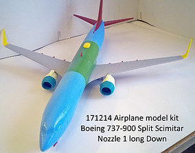 3D printable model 171214 Boeing 737-900 Split Scimitar