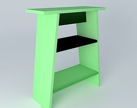 3D model Easel Libro My Mobile Wood
