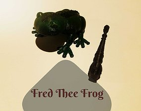 3D print model Fred The Frog Musical Instrument