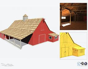 Red Barn PBR 3D model