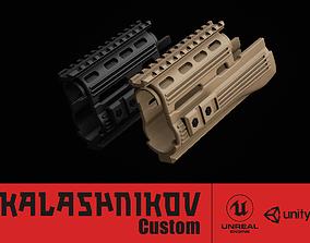 AK - Handguard - Tactical Polymer 3D asset