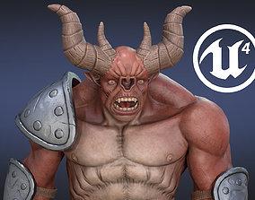 Demon Ogre 3D asset