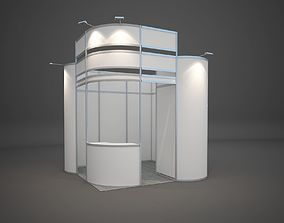 3D Exhibition stand 3x3