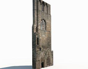 Castle Ruin 3 Low Poly 3d Model VR / AR ready