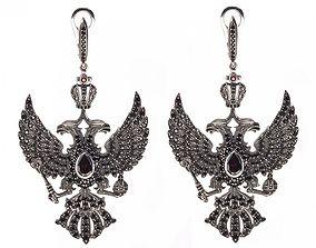 Russia Imperial Earrings 3D printable model