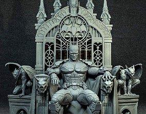 wonderwoman BATMAN ON THRONE - 3D PRINTABLE FIGURE