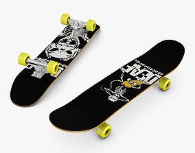 3D Skateboard freestyle