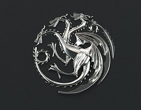 Game of Thrones - House Targaryen 3d print ready