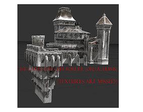 Castle v1 for edge of cliff 3D