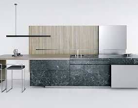 3D model Steininger Pure Kitchen
