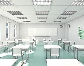 Classroom 002 3D model