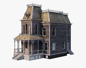 Psycho House 3D asset