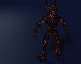 Dark Sentinel 3D asset