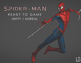 animated Spider-Man - Ready Game - 3D Model - FBX