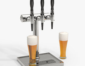 3D bar Beer Tower