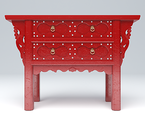 3D asset CHINESE ALTAR CABINET