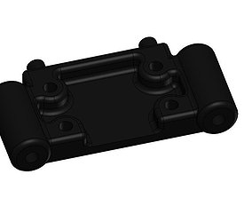 Team Associated Front Bulkhead SC10 B4 T4 3D Printable 1