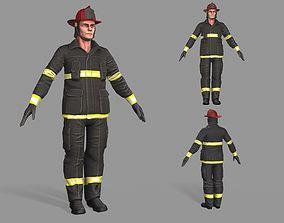 3D asset Fireman