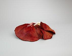 3D model Raw Pig Liver