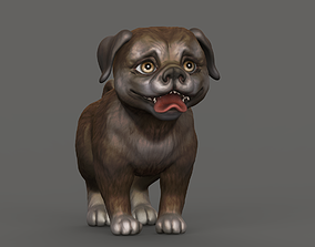 3D A small dog