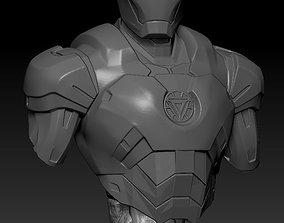 3D printable model IRON MAN comics