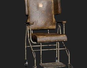 3D model Old Worn Wheelchair