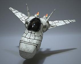 spacex 3D model Spaceship