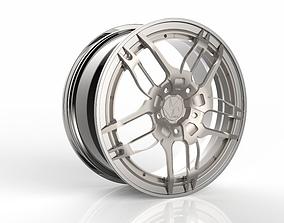 3D model Wheels Rims Xirox concept