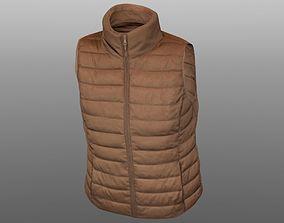low-poly Vest 3D model