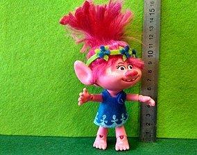 Poppy troll 3D print model