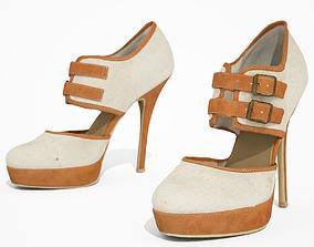 3D model High Heel Shoe