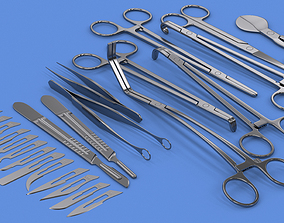 3D Surgical Instruments Collection - V-Ray