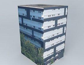 3d 3D model Building located Rouen France