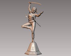 Katana 3D printable model comics