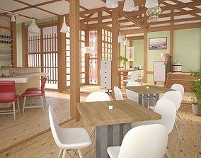 3D Cafe 01