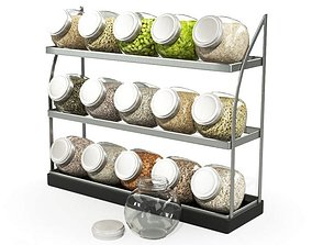 Rack And Cannisters 3D