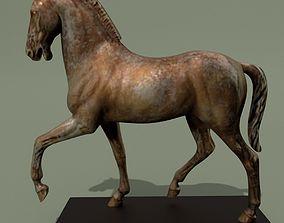 3D sculpture Horse Statuette X
